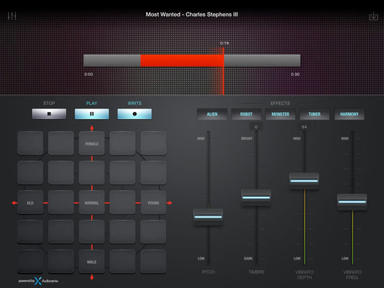 DJ Voxchanger screenshot