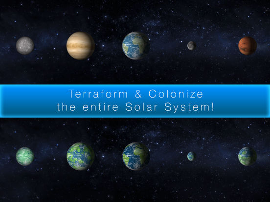 terraformed solar system with labels - photo #21