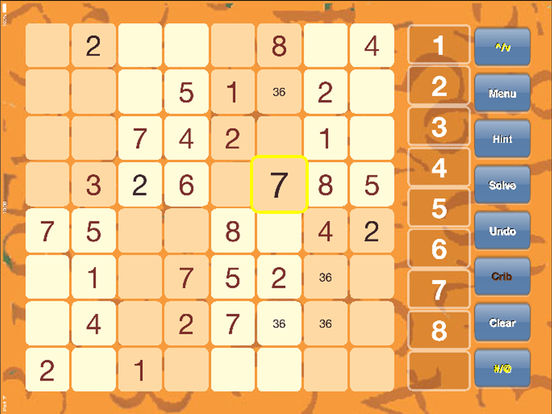 mini Sudoku iPad Screenshot 1