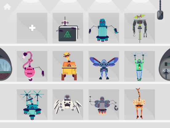 The Robot Factory by Tinybop Screenshots