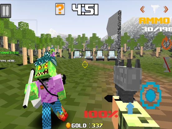 Mutant Zombies - Block Mine Mini Multiplayer Screenshots