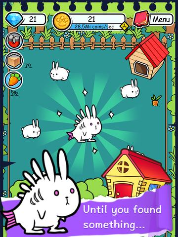 Rabbit Evolution   Tap Coins of the Crazy Mutant Poop Clicker Gamescreeshot 2
