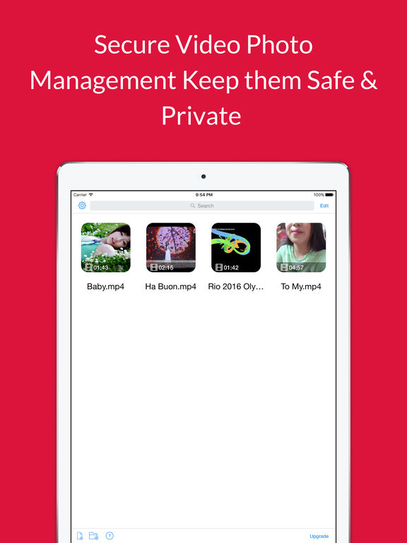 Video Get Pro - Keep Safe & Private Photo Vault for Cloud Services Screenshots