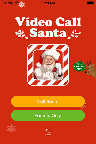 Video Call Santa screenshot 1