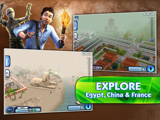 The Sims 3 World Adventures Screenshots