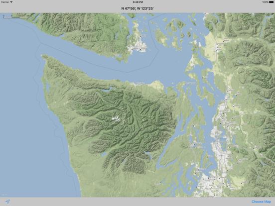 MapTap iPad Screenshot 2