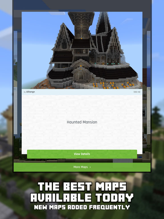 Screenshots of Mansion Maps for Minecraft PE - Minecraft Maps for iPad