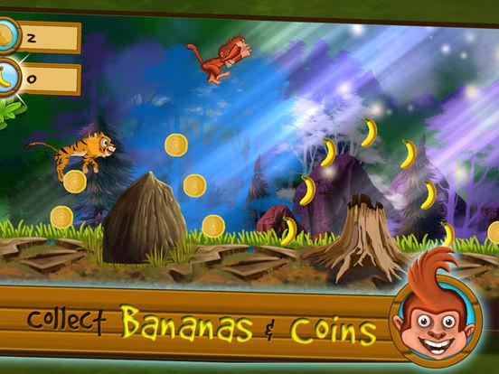 Monkey vs Tigers Screenshot