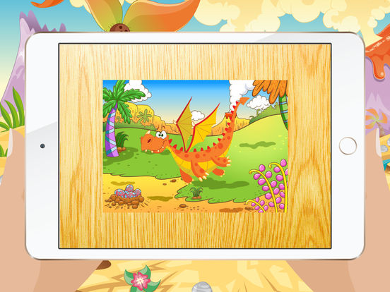 Мультфильм Дракон Пазлы для детей – Детский сад Обучение Игры Бесплатно Скриншоты9