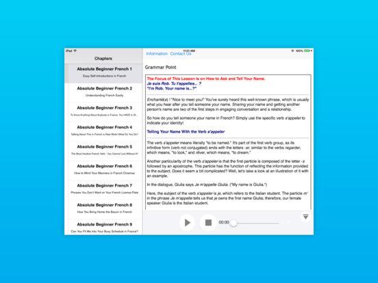 Advanced German for iPad iPad Screenshot 4
