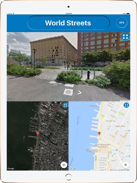 StreetsView 360: World Streets HD Screenshots