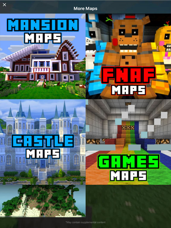 App shopper survival maps for minecraft pe the best for Explore craft survival pe