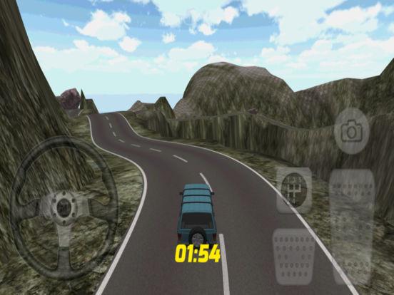 Jeep Racing Game 3D iPad Screenshot 3
