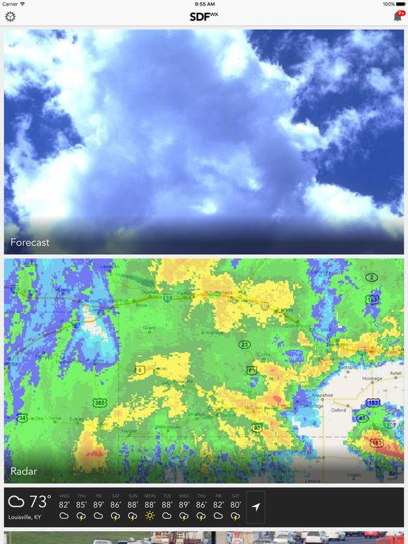 app shopper  louwx louisville ky weather forecast traffic