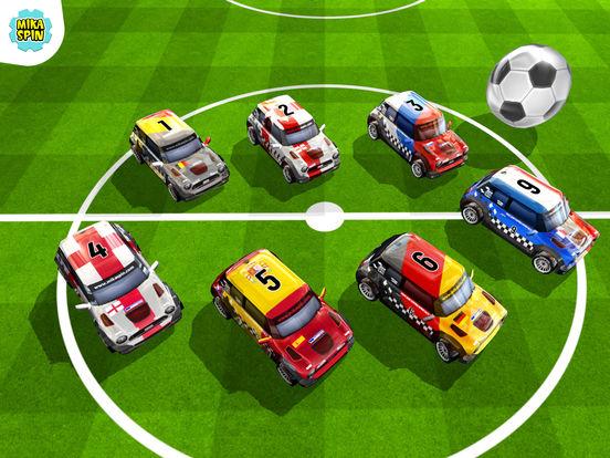 Micro Car Football — racing car game for kids Screenshots