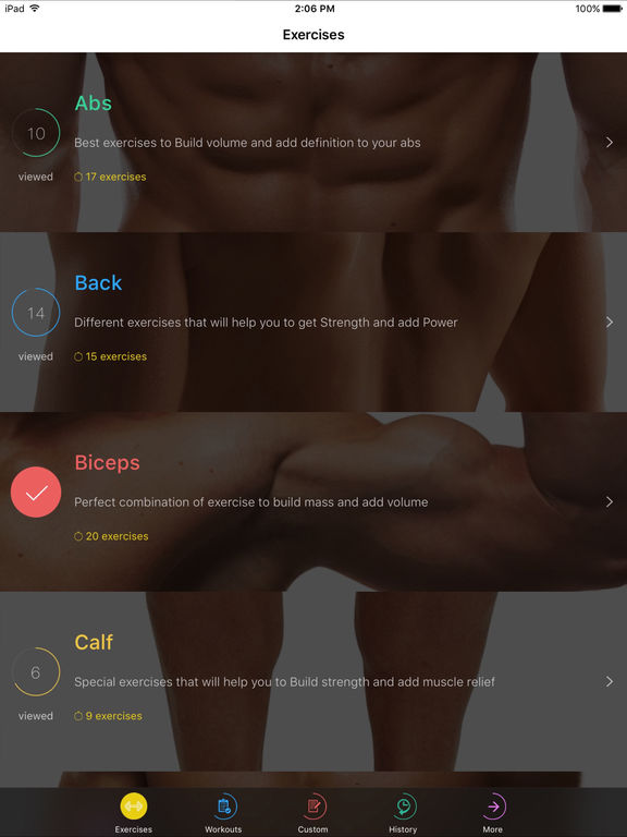 Fitness and Bodybuilding by VGFIT Screenshots