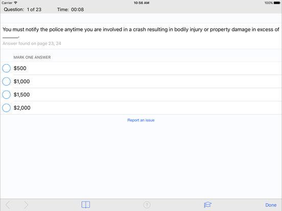 DMV Test Prep - North Dakota iPad Screenshot 3