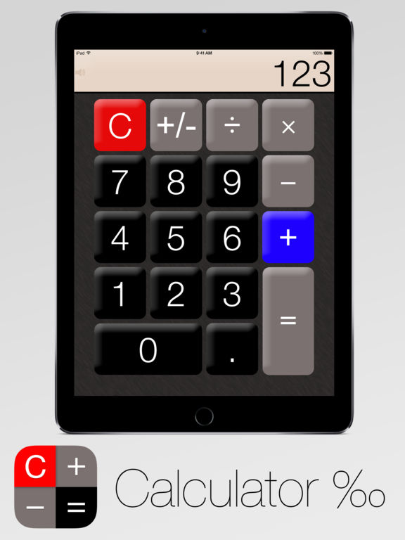 Calculator‰ screenshot