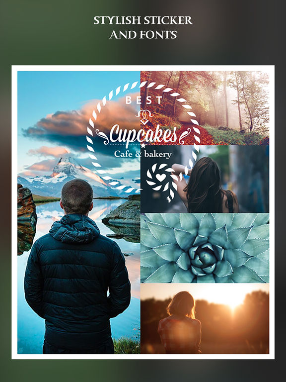 Simple Collage Pro - photo frame and PIP collage maker Screenshots