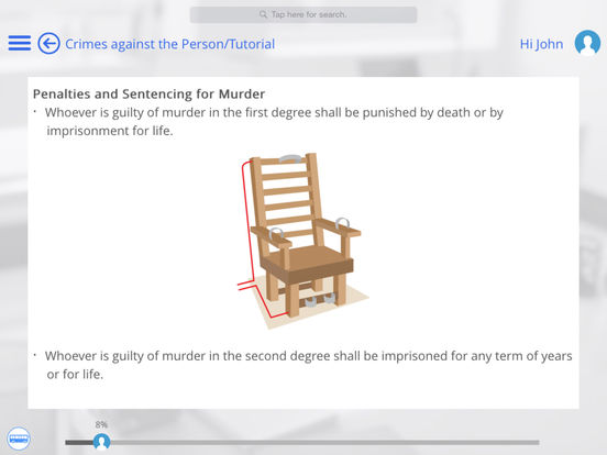 US Law for iPad iPad Screenshot 3