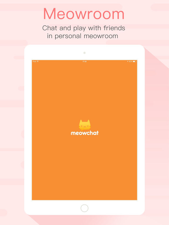 Screenshots of MeowChat for iPad