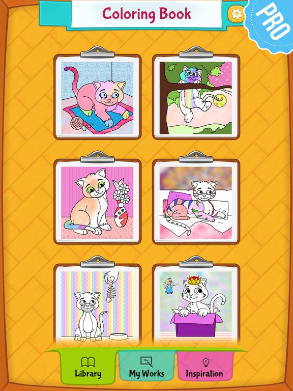 App Shopper Cat Coloring Pages Pro Games