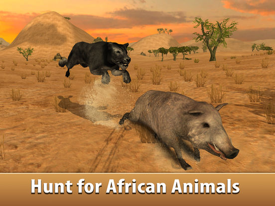 Black Wild Panther Simulator 3D Full - Be a wild cat in animal simulator! Screenshots