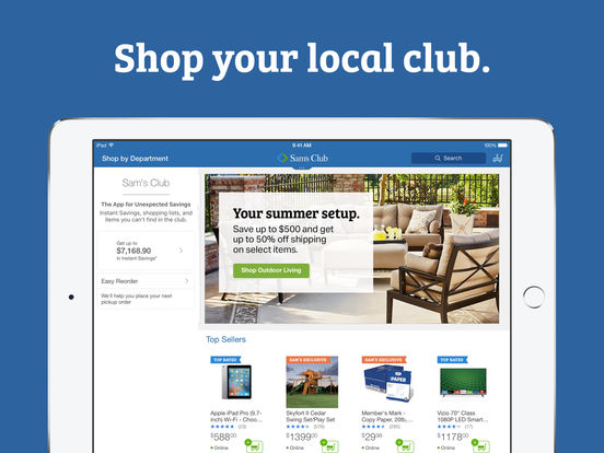 Sam's Club – Wholesale Pricing, Bulk Buying screenshot