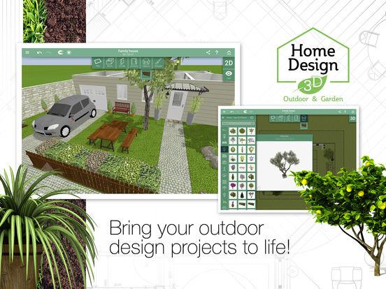 App shopper home design 3d outdoor and garden productivity for Home design 3d outdoor garden gratuit