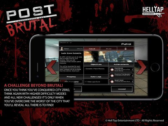 Игра Post Brutal - Апокалиптические зомби действий RPG