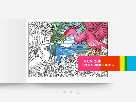 Ipad Coloring Book Le Pencil : Tayasui color a relaxing coloring book for adults on the app store