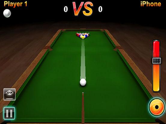 Ace Pool 3D Lite iPad Screenshot 1