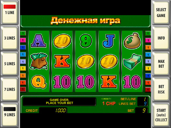 Симулятор Игровых Автоматов Гаражи