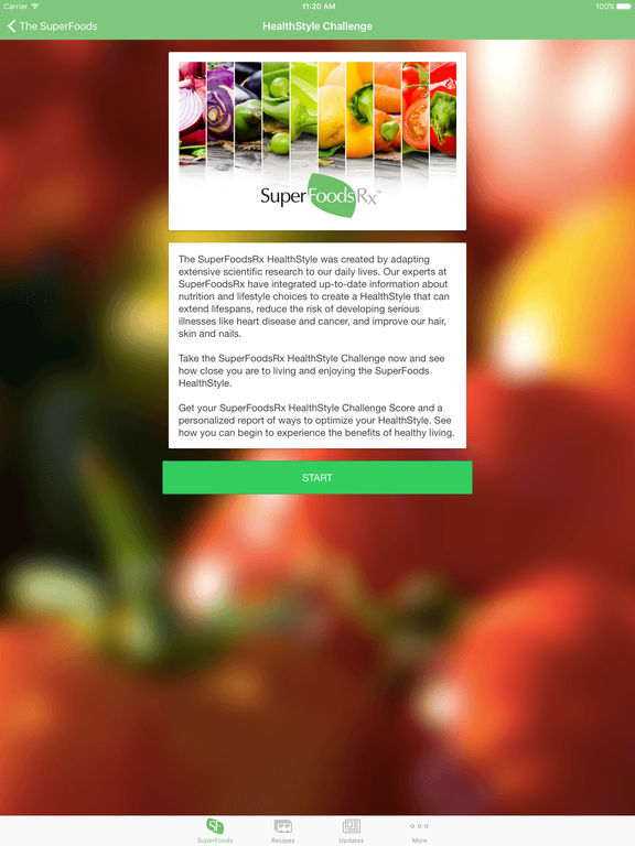 SuperFoodsRx - Essential Guide To Your Nutrition, Health & Wellness screenshot
