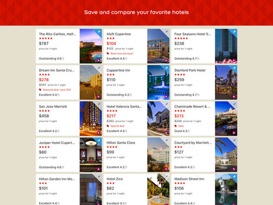 Hotels.com - Hotel booking and last minute hotel deals screenshot