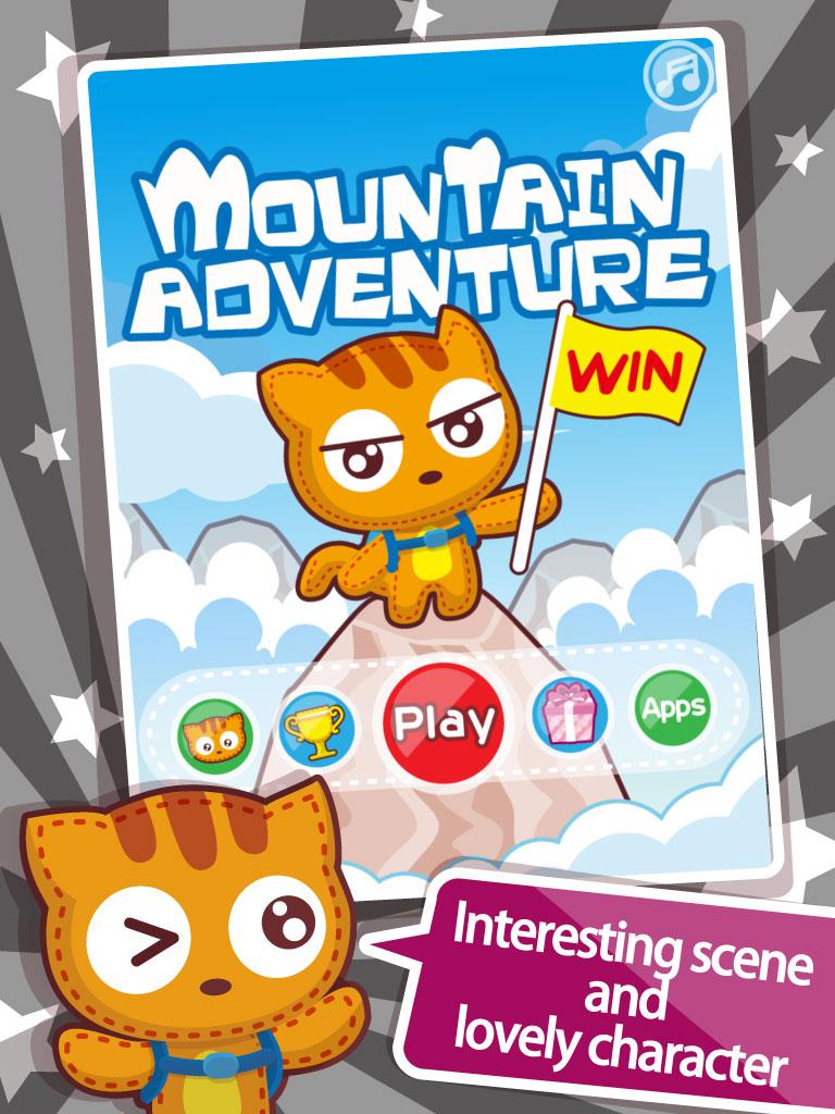Mountain Adventure - 勇闯高峰 - 有趣好玩考你反应的爬山小游戏 - 勇闖高峰 - 有趣好玩考你反應的爬山小遊戲