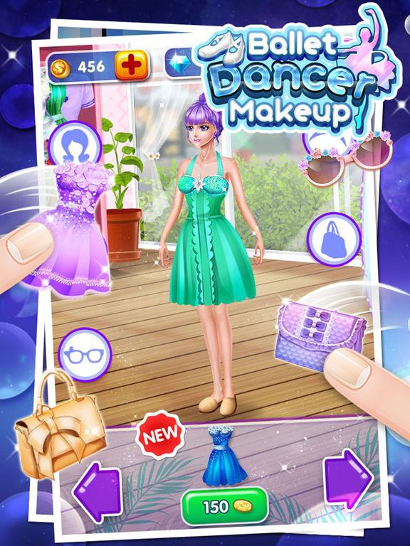 Ballet Dancer Makeup - Free Girls Gamesscreeshot 2