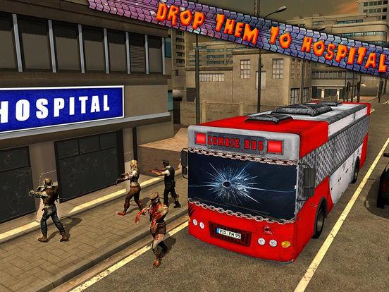 Outbreak Zombie Game Simulator Bus