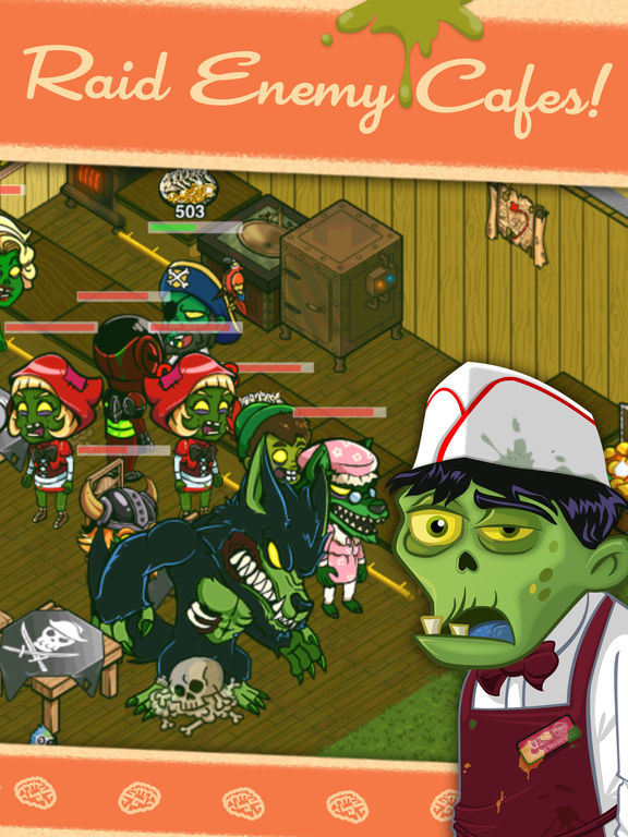 Zombie Cafe Best Zombies List