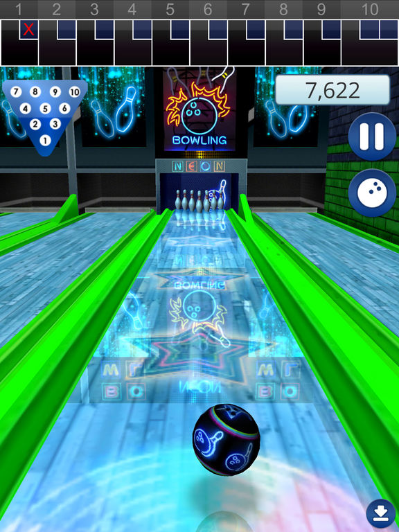 Lets Bowl 2: Free Multiplayer Bowling screenshot
