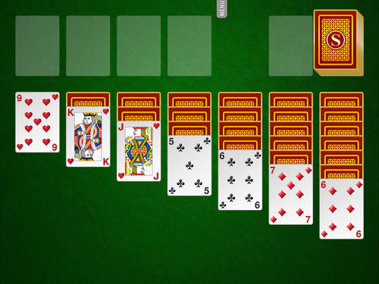 Solitaire iPad Screenshot 1