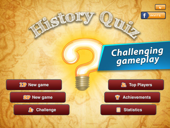 History Quiz Game - Multiplayer screenshot
