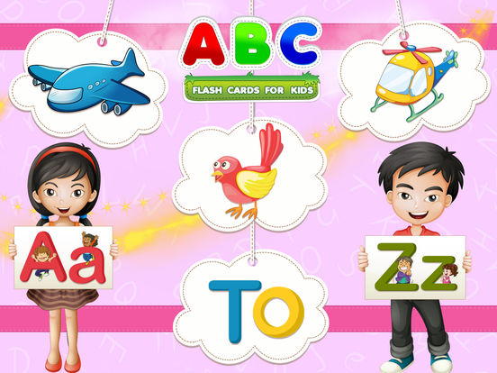 ABC Flash Cards For Kids iPad Screenshot 2