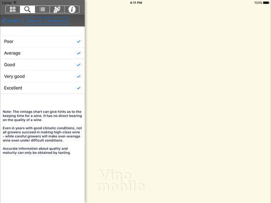 Wine Vintages iPad Screenshot 4