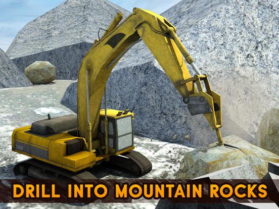 大钻机挖掘机起重机操作员及越野矿用自卸车模拟器游戏