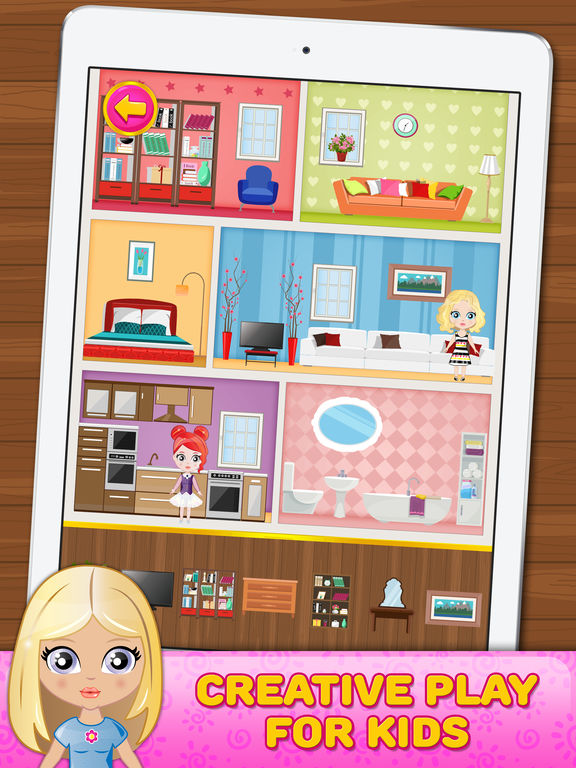 App Shopper Doll House Decorating Free Game For Children Games