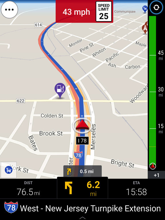 CoPilot HD USA & Canada – Offline GPS Navigation Screenshots