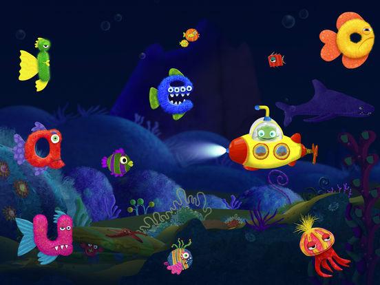 Tiggly Submarine: Preschool ABC Game. Скрин 2