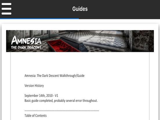 Mega Game Guru - Amnesia: The Dark Descent - Version-ipad-1