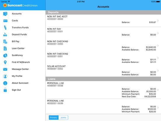 Suncoast Schools SunMobile iPad Screenshot 1